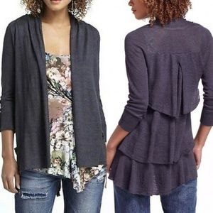 EUC Anthropologie Angel of the North Cardigan M